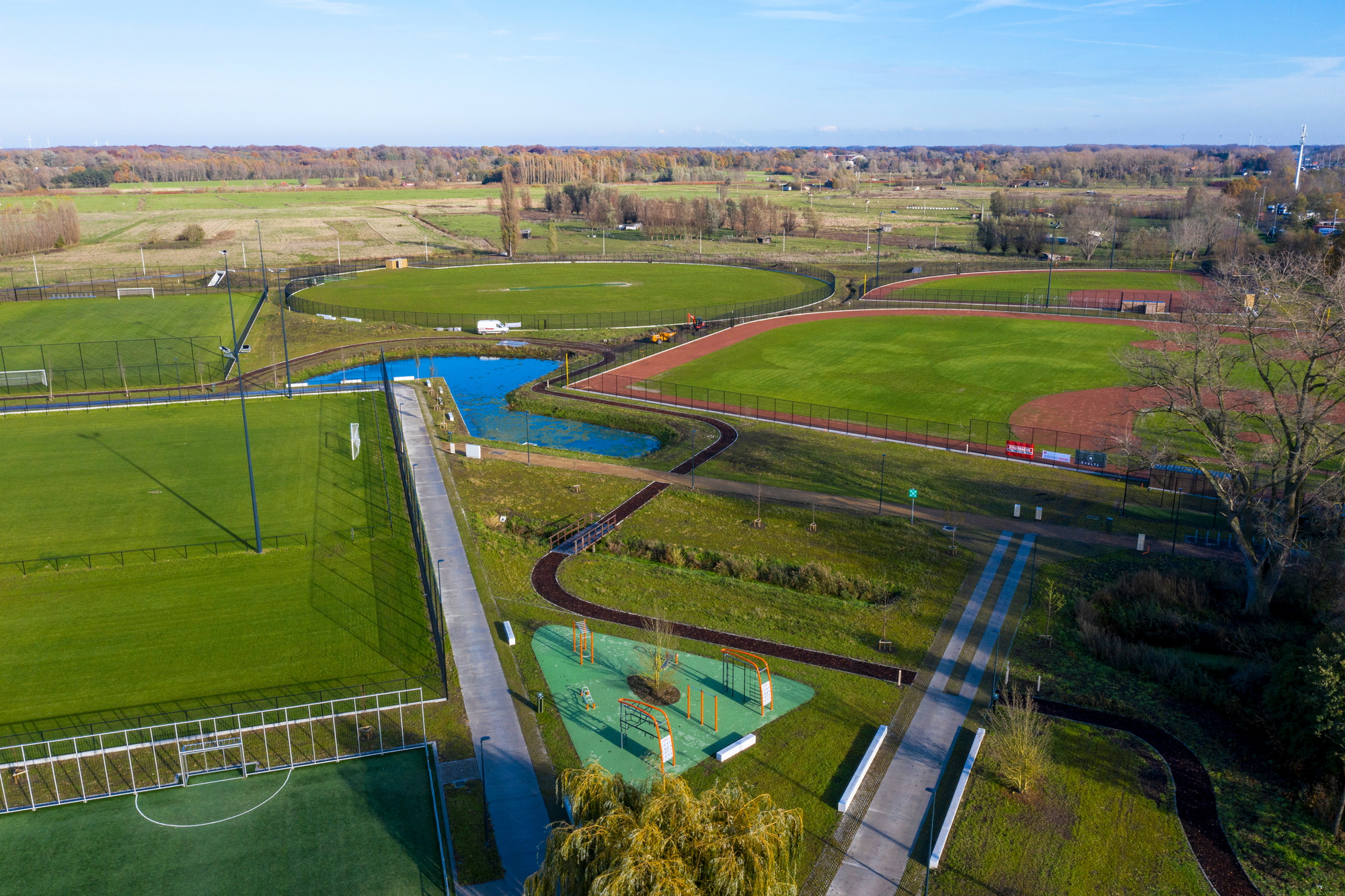 Sports center Gentbrugse Meersen